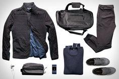 Lululemon Mile High Blazer ($298). Lululemon Carry-On Crew Sweater ($168). Lululemon B-Spoke Pant ($128). Lululemon Daily Sweat Duffle Bag ($128). Lululemon Dopp Kit ($48). New Balance 576 Sneakers ($180). Fitbit Surge Watch ($250). Bowers & Wilkins C5B Headphones ($198). This...