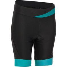 500 Women s Padded Cycling Shorts - Black Blue ee45588dde6