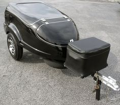Escalade Fiberglass Motorcycle Trailer