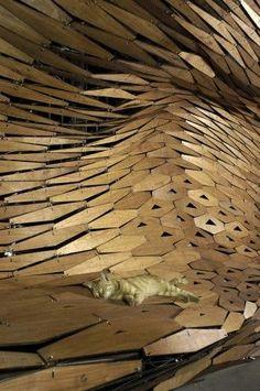 Galaxy Soho / Zaha Hadid Architects, by Hufton   Crow    [ The design gives the sense of a modernized Watergate ]