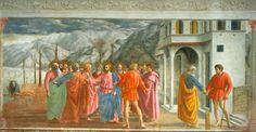 24. Grosz czynszowy, Masaccio, kaplica Brancacchich