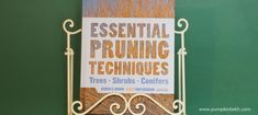 Book Review - Essential Pruning Techniques - Pumpkin Beth Reference Book, Gardening Books, Book Reviews, Christmas Gifts, Essentials, Pumpkin, Gift Ideas, Writing, Top
