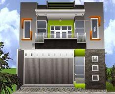 60 Desain Ruko 2 Lantai Minimalis dan Modern Front Elevation Designs, Microsoft Word, House 2, Architect Design, Little Houses, Minimalist Home, Home Fashion, Floor Plans, Home Appliances