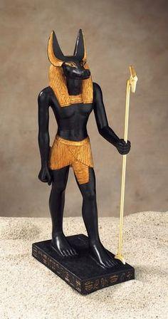 Representación de Anubis. Alejandro S. Vales