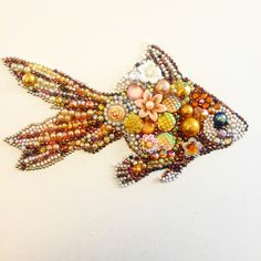 Goldfish Button art