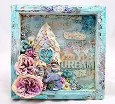 Mixed Media Place: Dare To Dream by Sylwia TandiArt