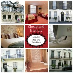 London Bed and Breakfasts www.europescalling.com