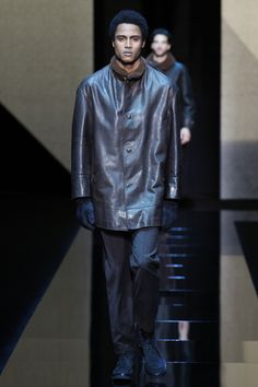 Giorgio Armani Fall 2017 Menswear Collection Photos - Vogue
