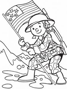 Add Fun, Veterans Day Coloring Pages for Kids