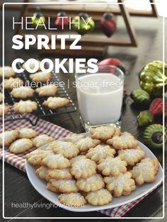 Healthy Spritz Cookie Recipe | healthylivinghowto.com