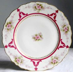 Assiette porcelaine de Limoges Elite décor par FrenchDecoChic