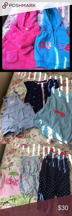 💕12pc baby girl Bundle! 💕 Brands baby gap, carter, first impression, baby colors and buster brown. Sizes vary from 9months to 12months. PERFECT CONDITION multiple items NWOT. Please feel free to make an offer :) Other