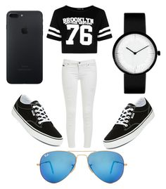 """Untitled #175"" by loren-aah-whitehead on Polyvore featuring Ray-Ban, Boohoo and Vans"