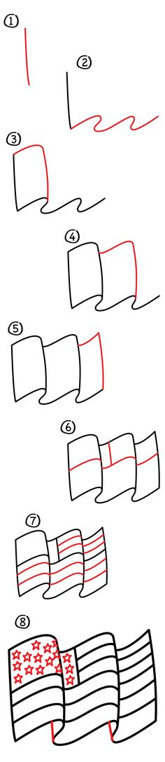 The 4th of July is almost here! To celebrate we thought it would be fun to learn how to draw The American Flag. Not just any flag though, a 3D flag! If you don't live in the US, that's ok! The beginning of this tutorial will show you how to draw any flag blowing in …