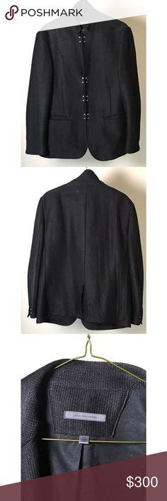 Mens John Varvatos Wool Jacket Size 54 Black John Varvatos Collection Wool Convertible Notch Lapel Jacket Color: Black Size 54 John Varvatos Suits & Blazers Sport Coats & Blazers
