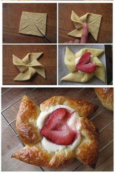 Pasta sfoglia stella