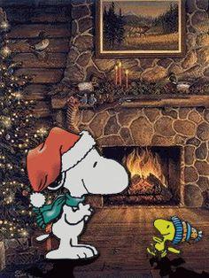 ***GIF***SNOOPY Christmas animation