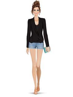 Styled with: Madison Harding, Hudson, Twenty, Rebecca Minkoff, Be & D, Dannijo, Karen London, Isharya   Create your own look with Covet Fashion