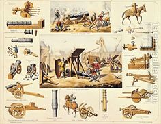 French-Artillery-From-The-14th-And-15th-Centuries.jpg (600×462)