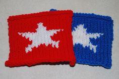 America Star Coasters - (c) Sarah E. White, licensed to About.com, Inc.