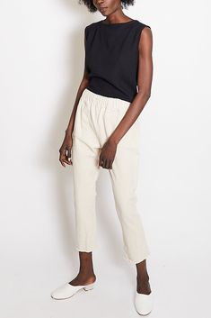 Hackwith Design Easy Raw Finish Skinny Pant