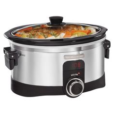 Hamilton Beach Intellitime Slow Cooker- 33564, White