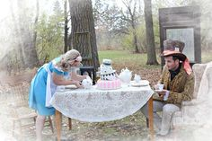 Alice In Wonderland Engagement