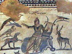 Cyprus - Paphos mosaics - The House of Orpheus