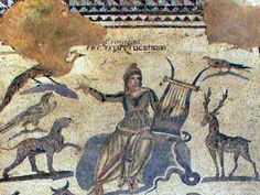 Cyprus - Paphos mosaics - The House of Orpheus