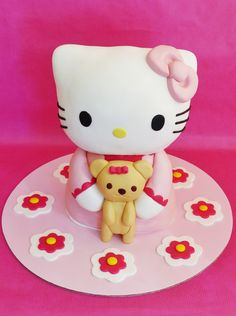 Hello Kitty 3D cake. It´s all cake :)