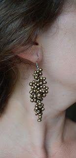 Miel Accesorios BA Cluster Earrings @MielAccesoriosBA