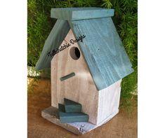 Off Reclaimed Barnwood Birdhouse Nautical by TallahatchieDesigns Bird House Plans, Bird House Kits, Outdoor And Country, Bird House Feeder, Bird Feeders, Birdhouse Designs, Birdhouse Ideas, Bird Houses Diy, Wooden Houses