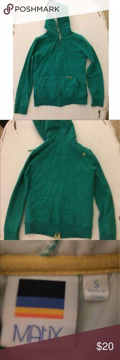 Matix zip up sweatshirt hoodie Great condition Matix Clothing Company Tops Sweatshirts & Hoodies