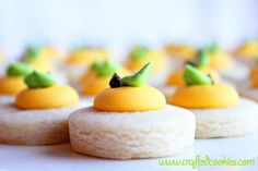 5 dozen Lemon Cookie Nibbles by CraftedCookies on Etsy, $20.00