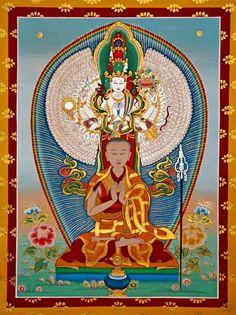 Gelongma  Palmo, Nungne, Avalokitesvara, Chenrezig