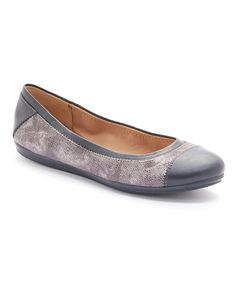 Love this Gray Gessica Flat by Easy Spirit on #zulily! #zulilyfinds
