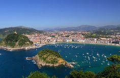 San Sebastian in Spain's Basque country...