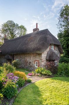 Faerie Door Cottage, luxury self-catering breaks in Wiltshire; cottage breaks in Wiltshire - Luxury Report Fairytale Cottage, Storybook Cottage, English Country Cottages, English Countryside, Country Homes, Little Cottages, Cabins And Cottages, Luxury Cottages, Cottage Homes