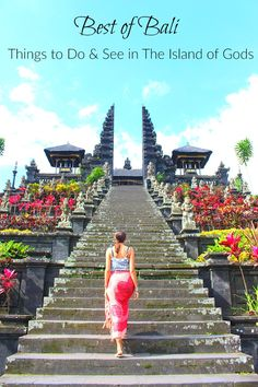 Best of Bali Things to do in the Island of Gods Local experiences tourist attractions and the best places to stay in Bali. All the top things to do in Bali in a practical travel guide to the Island of Gods in Indonesia. via loveandroad