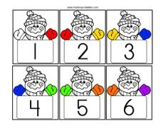Hottest Screen winter preschool printables Concepts Don't you generally ask yourself how you can pay for it? Whether or not you have Montessori schooling or maybe a clas Hands On Learning, Hands On Activities, Winter Activities, Free Preschool, Preschool Printables, Preschool Ideas, Winter Crafts For Kids, Kids Crafts, Classroom Fun