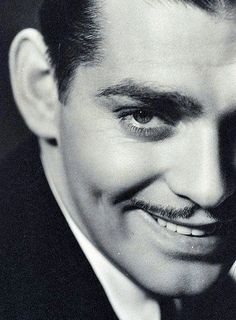 "Clark Gable- Mr Rhett Butler with classic quotes"" My dear, I don't give a damn""_Gone with the wind."