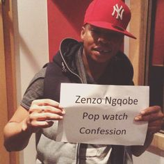 Zenzo Ngqobe picked a classic for his #popwatchconfession
