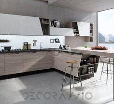 #kitchen #design #interior #furniture #furnishings  комплект в кухню Aran Cucine Mia, ACM02WBB