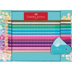 Faber-Castell Ambition Drehkugelschreiber OpArt Pink Sunset
