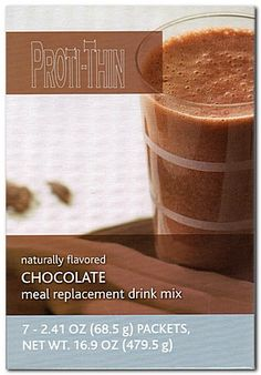 Proti-Thin Meal Replacement VHP - Chocolate (7/Box)
