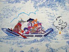 Casa de Retalhos: Um artista do bordado ♥ Richard Saja