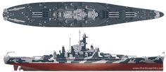 USS Alabama (BB-60) Navy Military, Military Life, Uss Alabama, Navy Coast Guard, Model Warships, Dazzle Camouflage, United States Navy, Navy Ships, Military Weapons