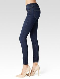 PAIGE® | Skyline Skinny Ankle Peg Jeans in Alanis