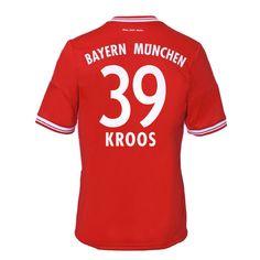 13-14 Bayern Munich #39 Kroos Home Soccer Jersey Shirt