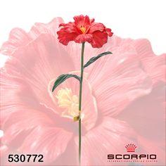 """искусственный цветок """"камелии"""", оранжевая - Цветы искусственные - SCORPIO - Магазин подарков, декора, иллюминации"""